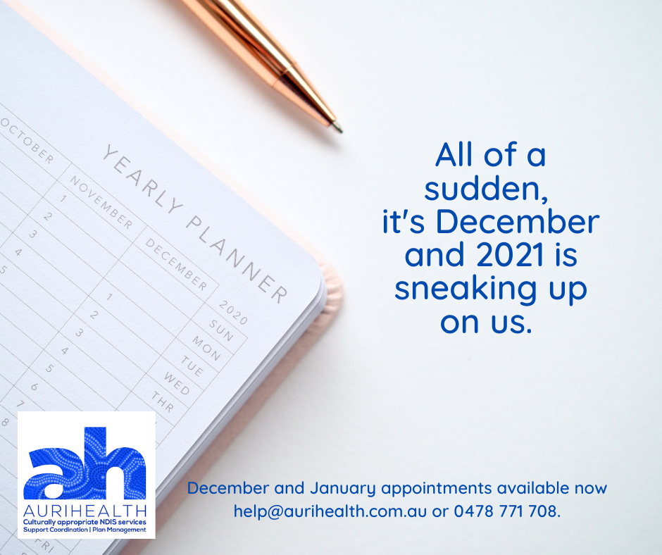 Appointments still available for December 2020 and January 2021